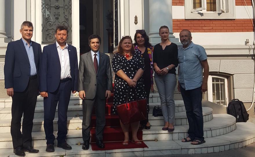 Organizaţiile din media au avut o întrevedere cu ambasadorul Turciei la Bucureşti