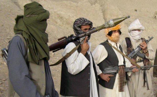 Luptători talibani în provincia afgană Helmand