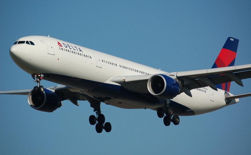 Avion al companiei aeriene Delta Air Lines.