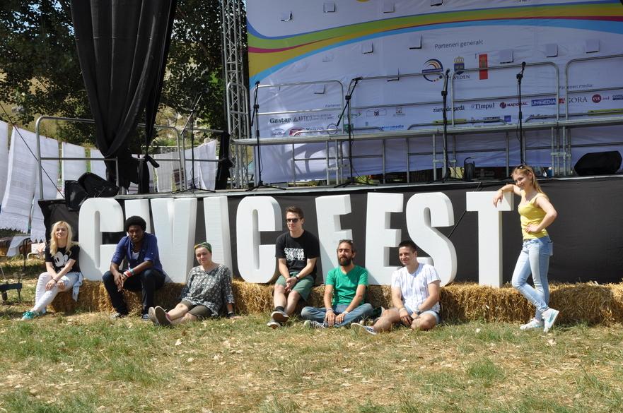 Voluntari la cea de a patra ediţie Civic Fest Moldova