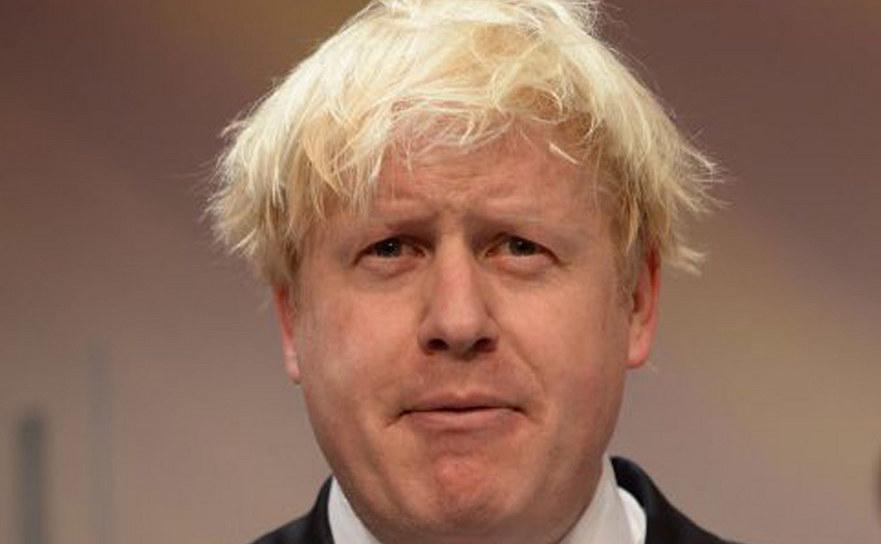 Ministrul britanic de externe Boris Johnson.