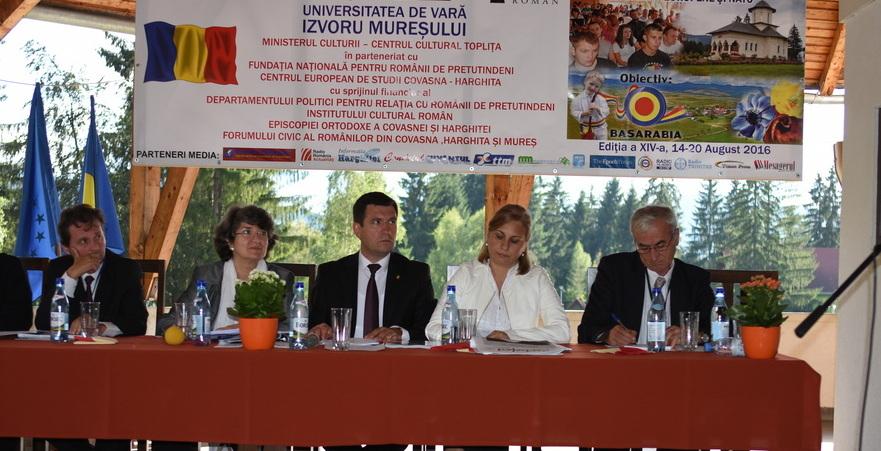 Universitatea de vară de la Izvorul Mureşului, 2016, 14-20 august