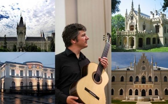 """Turneul lui Costin Soare, """"Muzica în Palatele României"""", Iaşi"""