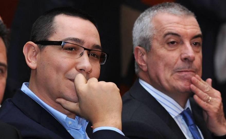 Victor Ponta şi Călin Popescu Tăriceanu