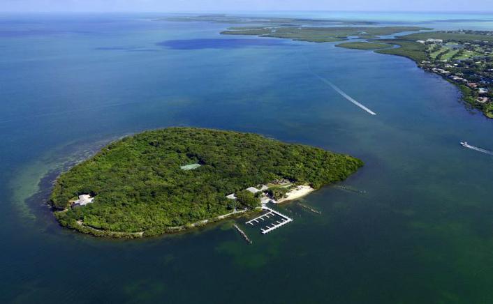 Insula Pumpkin Keys, Florida, SUA