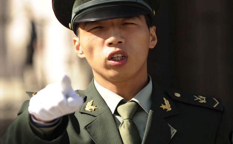 Poliţist chinez.