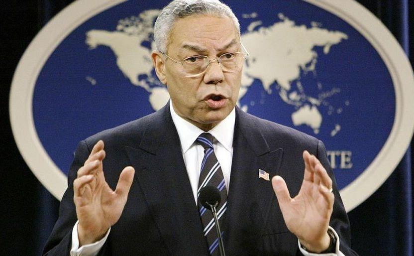 Fostul secretar de stat american Colin Powell.