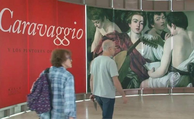"""Expoziţia """"Caravaggio şi pictori din Nord"""", deschisă la Madrid"""