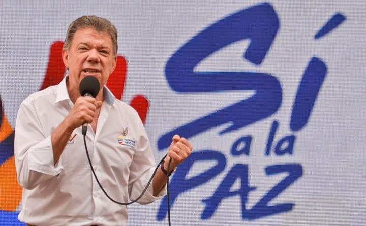 Preşedintele columbian Juan Manuel Santos.