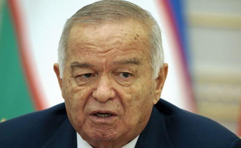 Preşedintele Uzbekistanului, Islam Karimov.