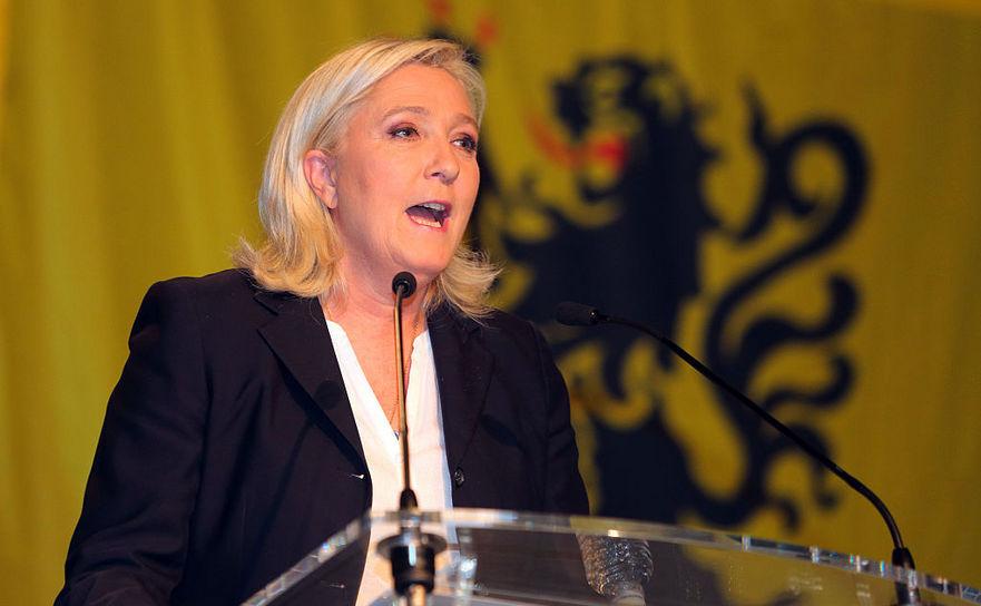 Preşedintele Frontului Naţional, Marine Le Pen