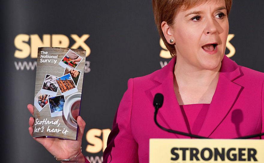 Premierul scoţian Nicola Sturgeon testează suportul pentru un al doilea referendum îm privinţa independenţei, după Brexit, 2 septembrie 2016.