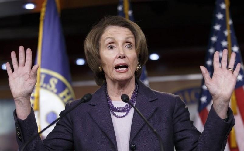 Lidera minorităţii Camerei Reprezentaţilor din SUA, democrata Nancy Pelosi.