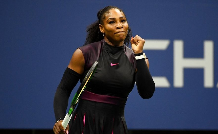 Tenismana americană Serena Williams.
