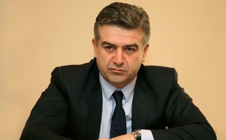 Fostul primar al capitalei armene Erevan, Karen Karapetian.