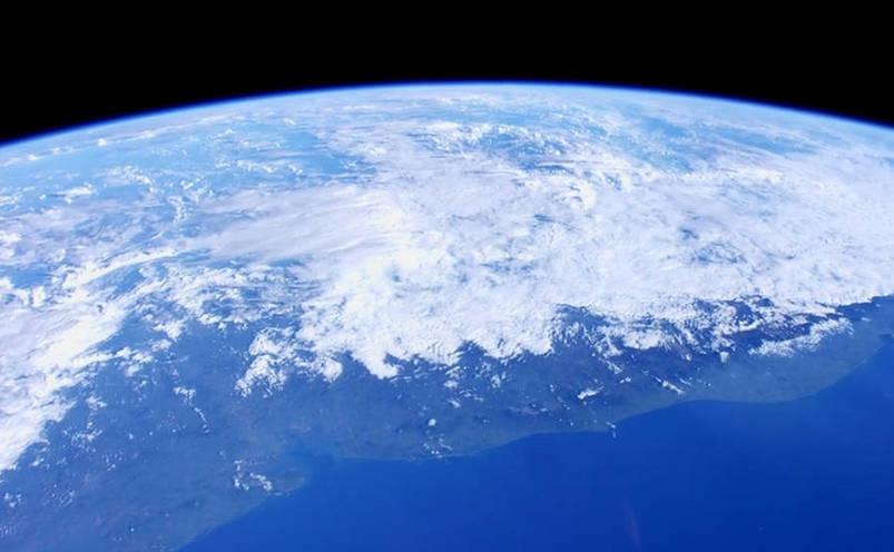 Vedere din satelit a Pământului