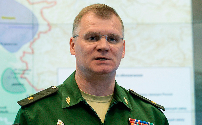 General-maiorul Igor Konaşenkov, purtător de cuvânt al Ministerului rus al Apărării.