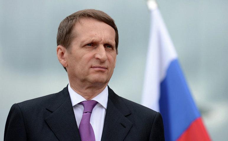 Fostul preşedinte ale Parlamentului rus, Serghei Narişkin.
