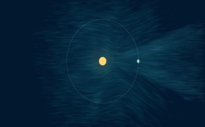 Grup misterios de raze X: grafică conceptuală realizată de NASA