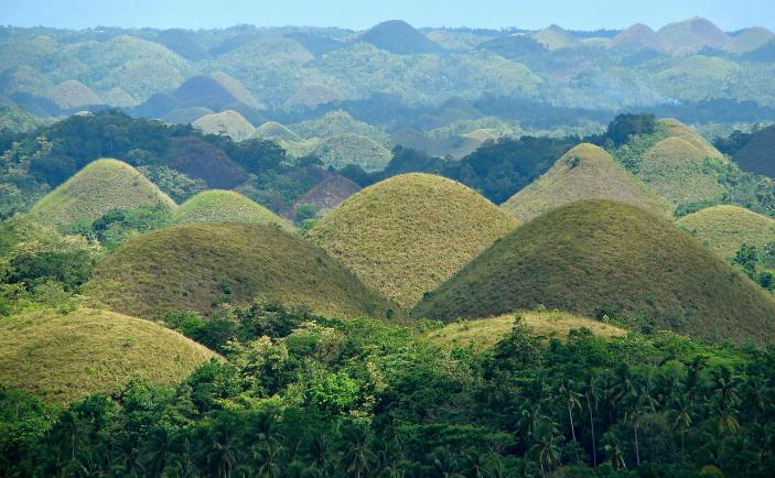 Dealurile de ciocolată, Bohol, Filipine