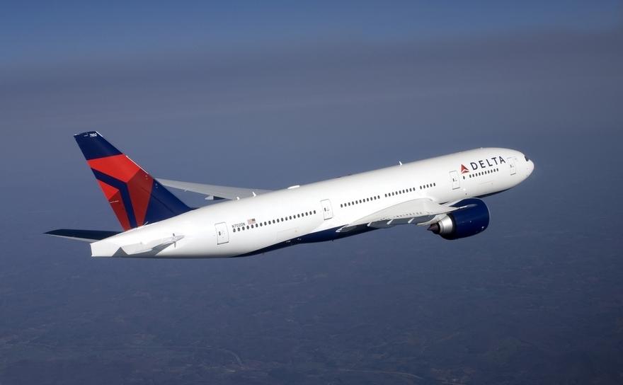 Compania aeriană Delta Air Lines.