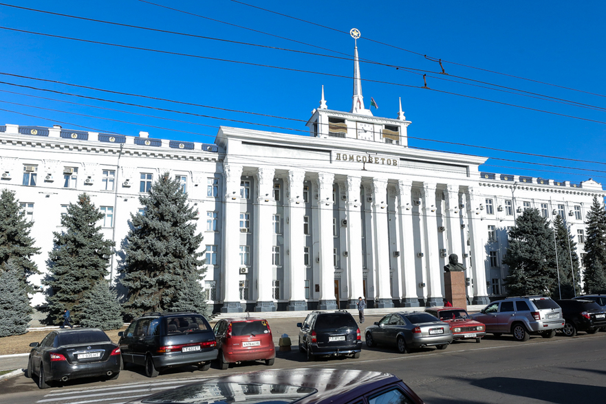 Transnistria, Casa Sovietelor, or.Tiraspol