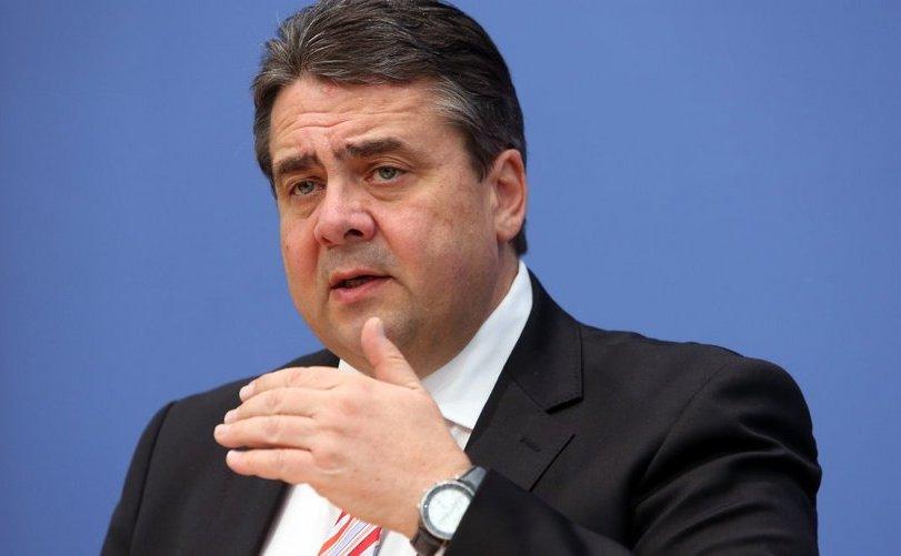 Vicecancelarul german Sigmar Gabriel.