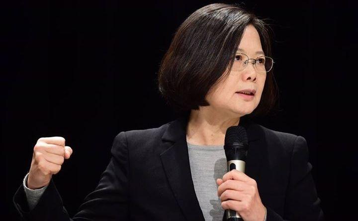 Preşedinta taiwaneză Tsai Ing-wen.