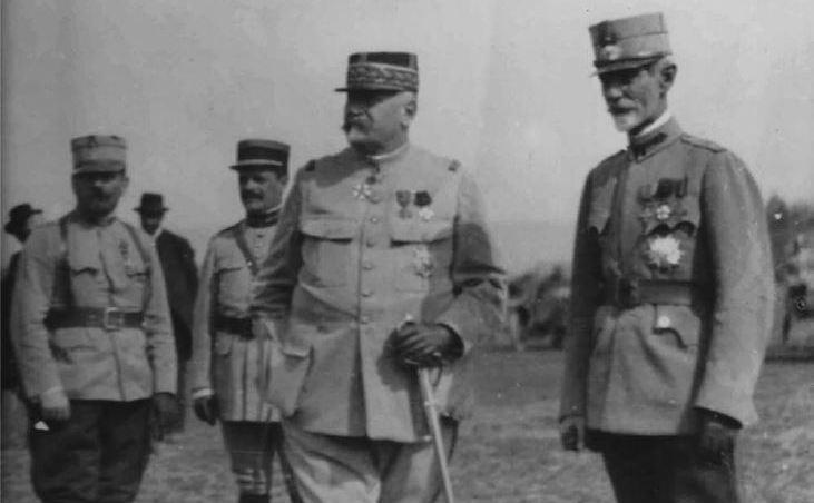 Generalii Berthelot şi Averescu, 1917
