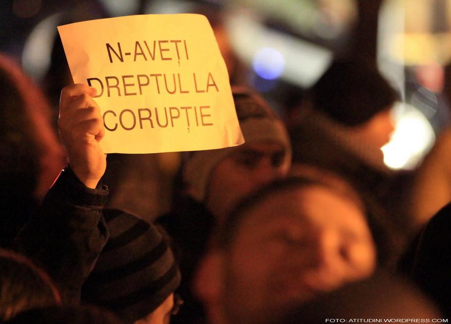 Nu aveţi dreptul la corupţie.