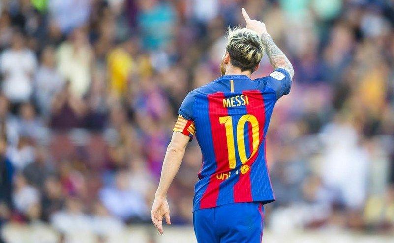 Internaţionalul argentinian Lionel Messi.
