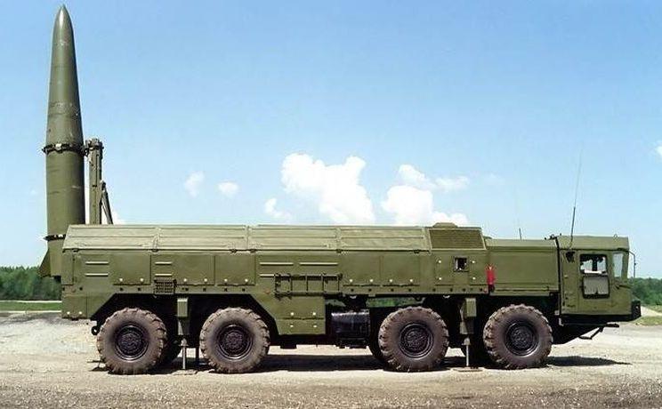 Sistem rusesc de rachete Iskander.