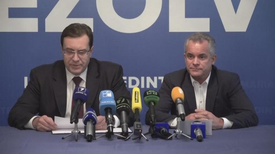 Marian Lupu şi Vladimir Plahotniuc