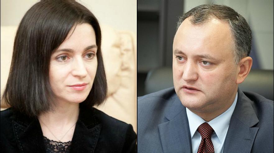 Maia Sandu şi Igor Dodon