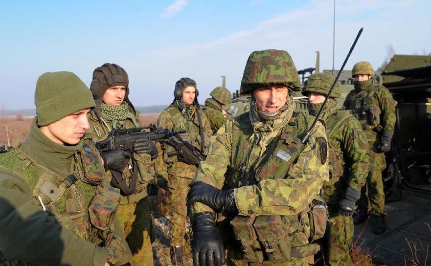 Soldaţi lituanieni.