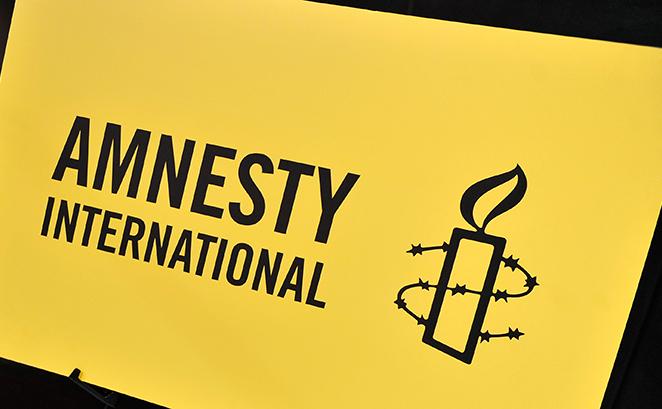 Logoul organizaţiei Amnesty