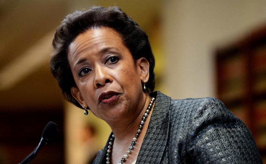 Procurorul general al SUA, Loretta Lynch.
