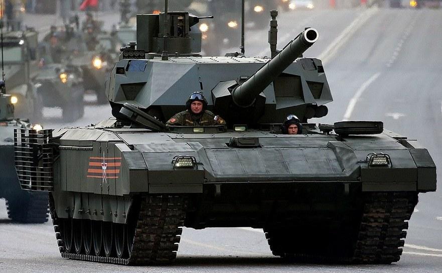 Noul tanc rusesc T-14 Armata.