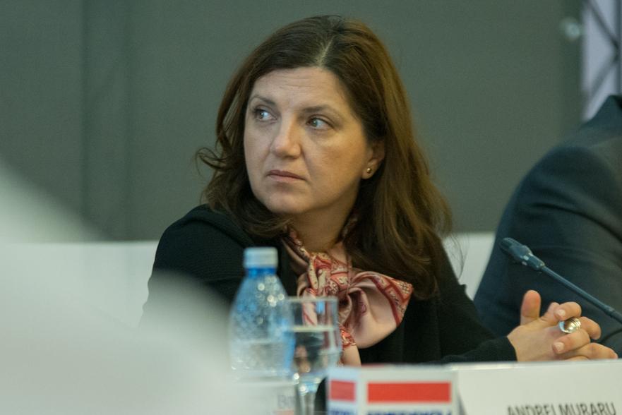 Raluca Pruna(Ministrul Justitiei)