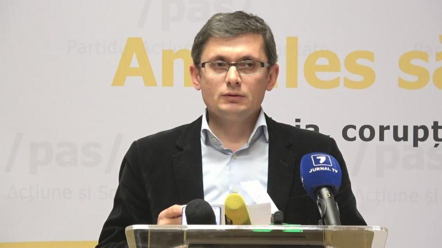 Igor Grosu, secretar general şi trezorier al PAS