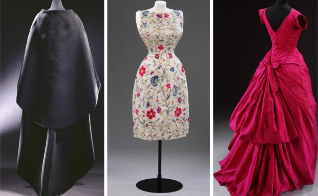 Modele ale designerului spaniol Cristobal Balenciaga