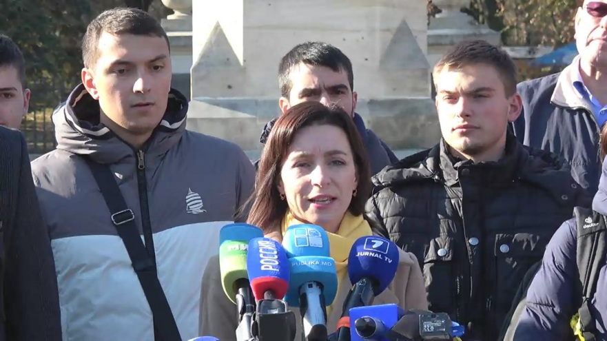 Maia Sandu, candidat la funcţia de preşedinte