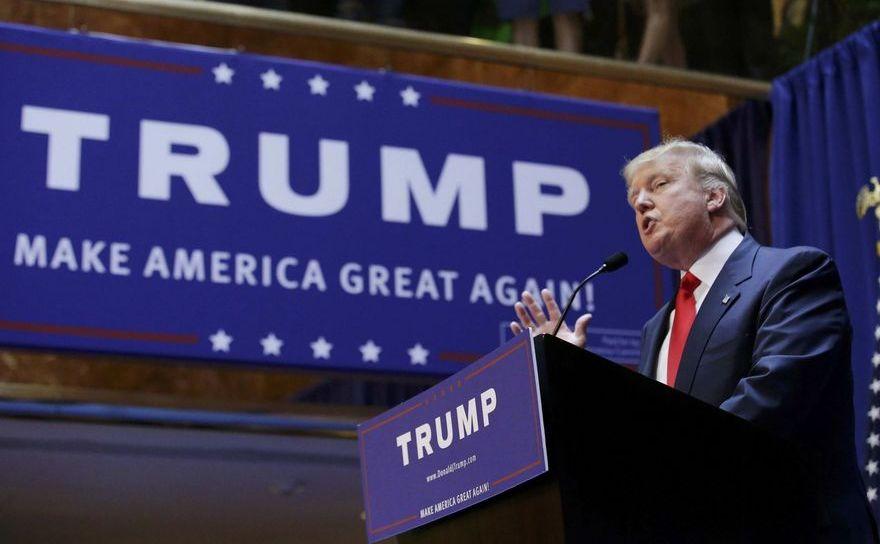 Preşedintele ales al SUA, Donald Trump.
