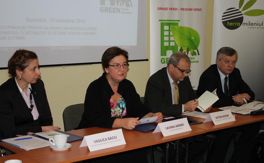 """Seminarul """"Economie Verde pentru Oraşe Verzi – Foaie de parcurs"""""""