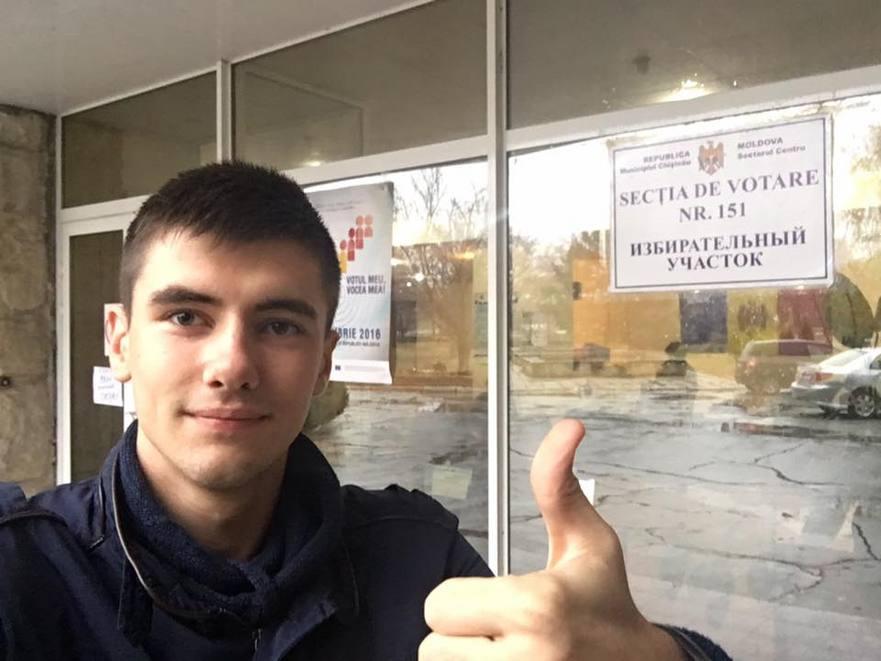 Vlad Bileţchi: Îndemn toţi prietenii mei să iasă la vot! Nu fi complice la dezmăţul roşu - votează cu încredere