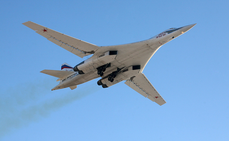 Bombardier strategic supersonic rusesc Tupoloev Tu-160.