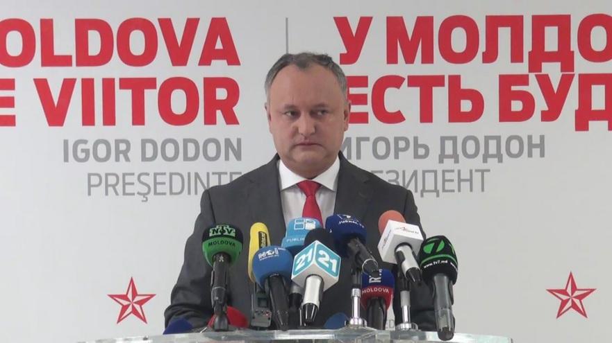 Igor Dodon, liderul PSRM