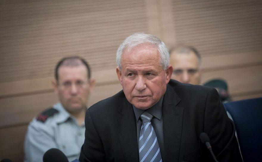 Avi Dichter, preşedinte al comitetului israelian pentru afaceri externe şi probleme militare.