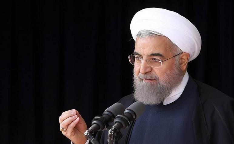 Preşedintele iranian Hassan Rouhani.
