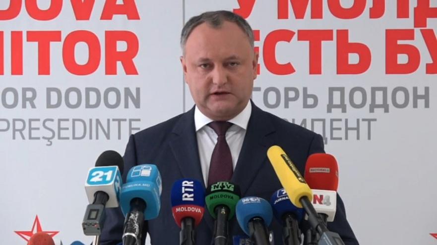 Preşedintele ale, Igor Dodon
